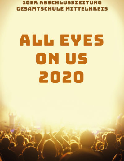 Cover der Abizeitung Goch 2020