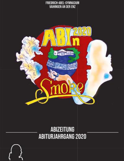 Cover der Abizeitung Vaihingen 2020